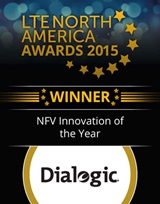 Dialogic wins LTE North America NFV Award