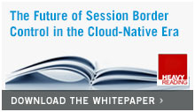 The future of session border control in the cloud-native era