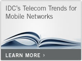 IDC's Telecom Trends for Mobile Networks