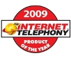 2009 Internet Telepohny Product of the Year logo