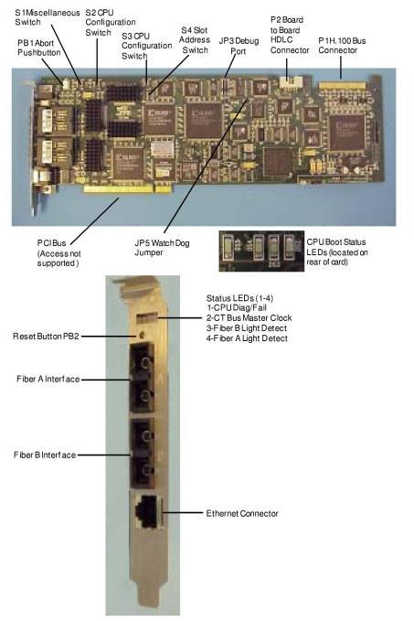EXNET Connect PCI H100 Card – Light Switch Loopback Wiring-diagram