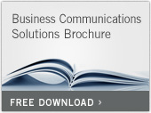 Business Communications Solutions brochure