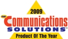 2009 Communications Solutions Product of the Year logo